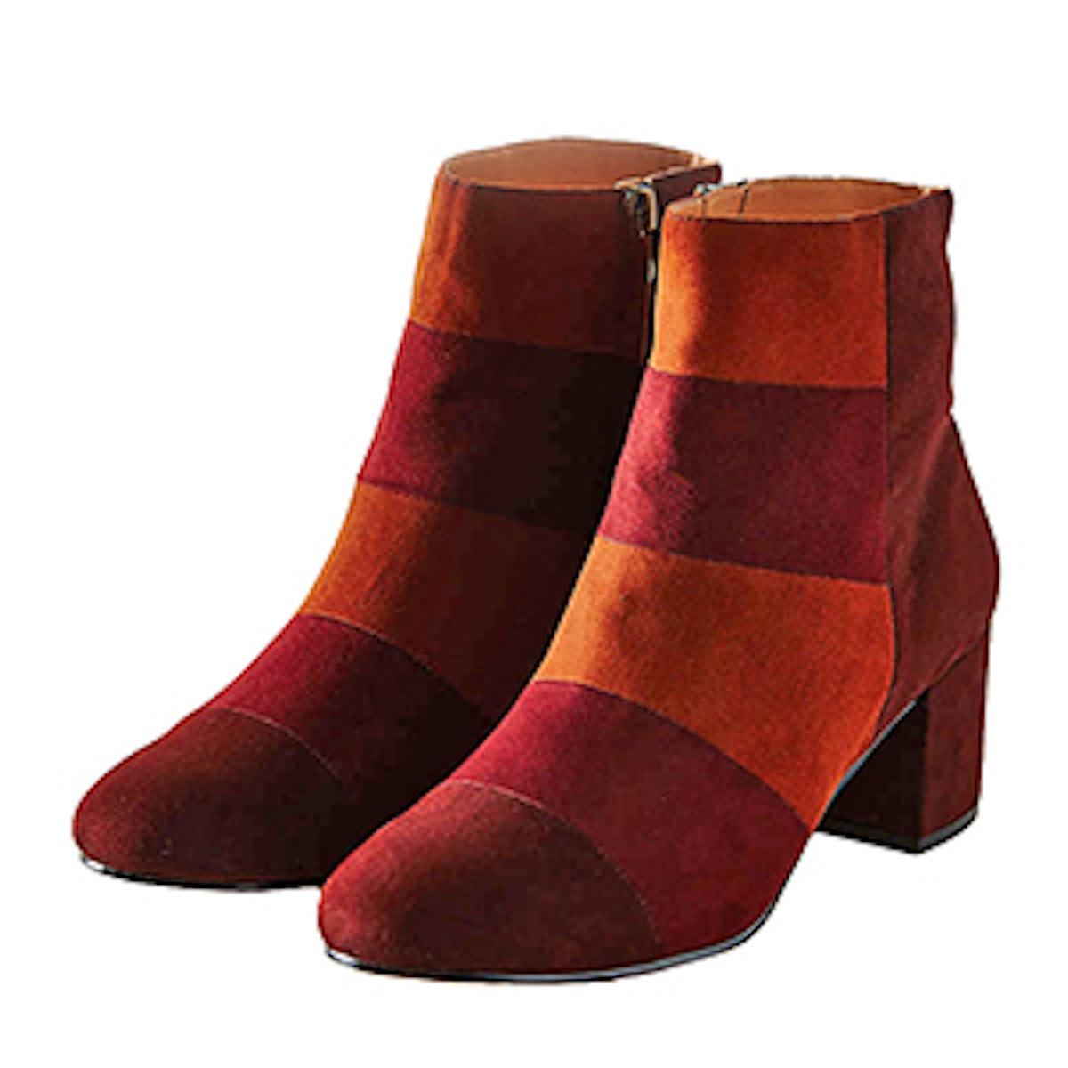 Janet Colorblock Boot
