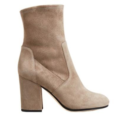 Benita Suede High Heel Booties