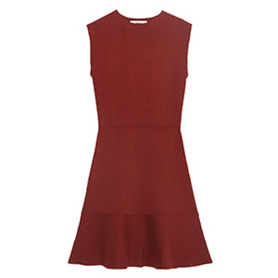 Dress with Contrasting Twill