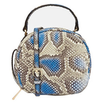 Snake Box Shoulder Bag