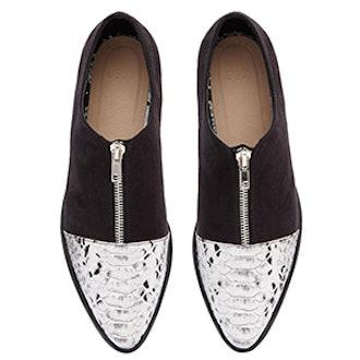 Mayor Pointed Flat Shoe