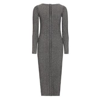 Alinaho Metallic Knitted Dress