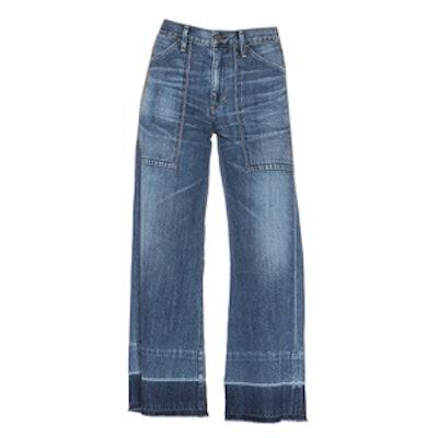 Melanie Cropped Denim Pants