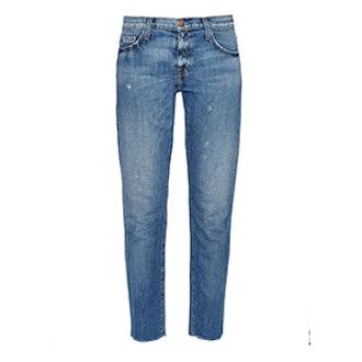 The Fling Low-Slung Boyfriend Jeans
