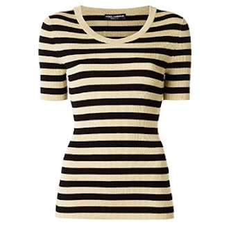 Ribbed Striped Top