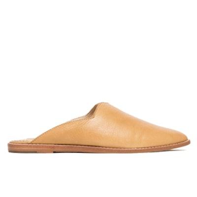 Tia Slides In Caramel Loafer