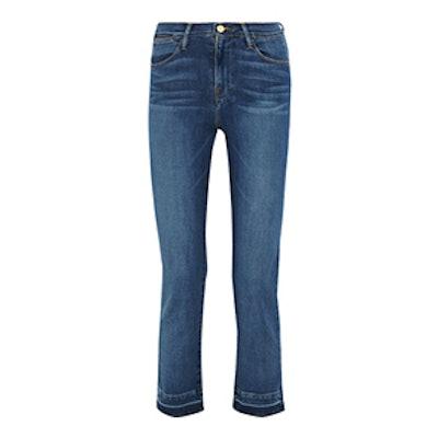 Le High Cropped Slim-Leg Jean