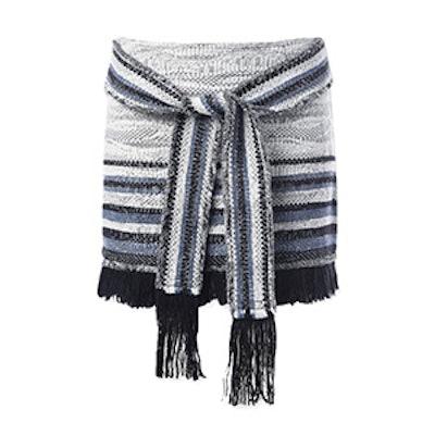 Fringe Tie Detail Skirt