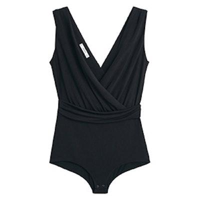 Wrap Neckline Bodysuit