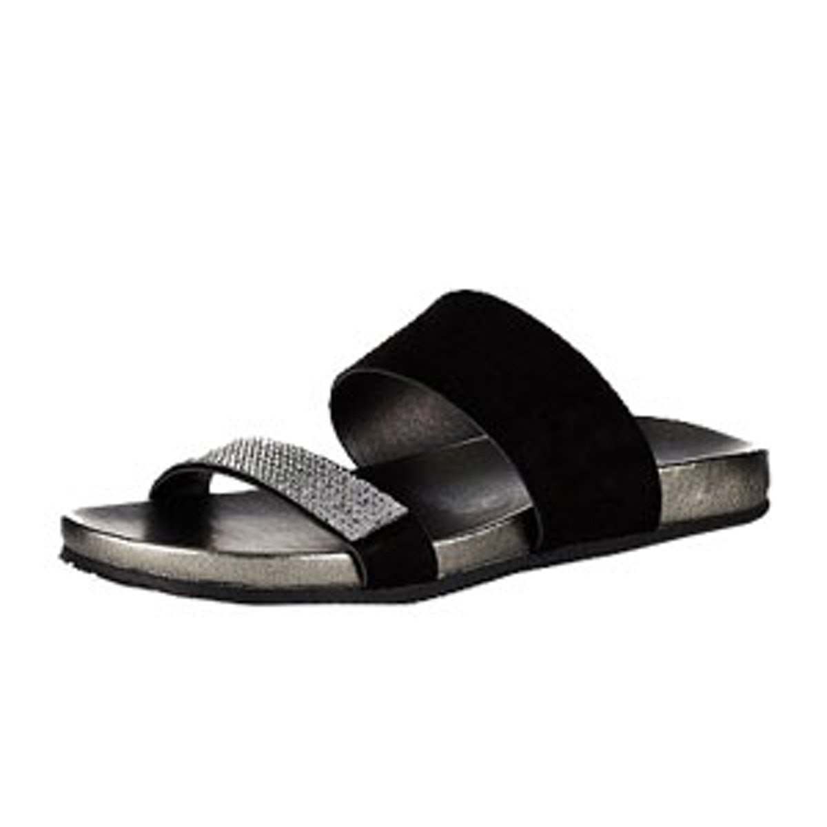 Stain Away Suede Jewelled Sandals