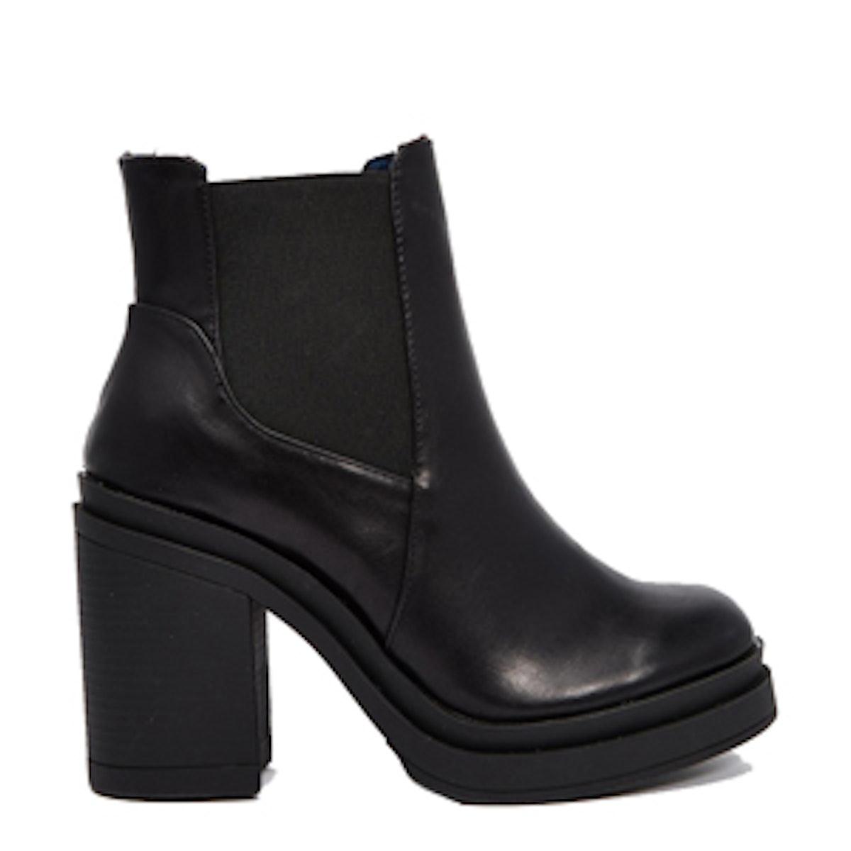 Chunky Heeled Boot