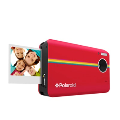 Digital Instant Print Camera In Red