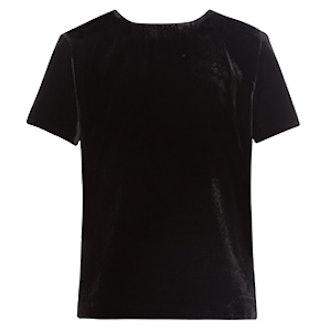 Notch Velvet T-Shirt
