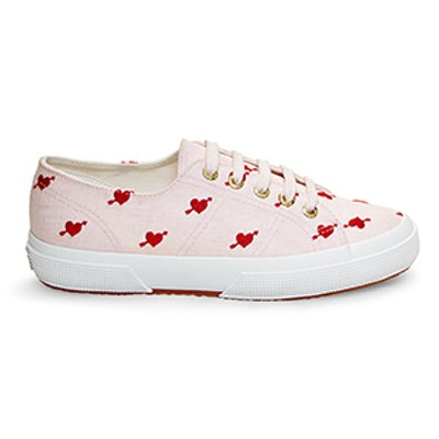 2750 Red Hearts Sneakers