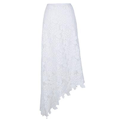Lace Asymmetrical Skirt