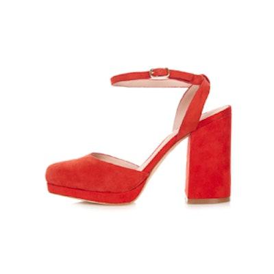 Scarlet Platform Shoes