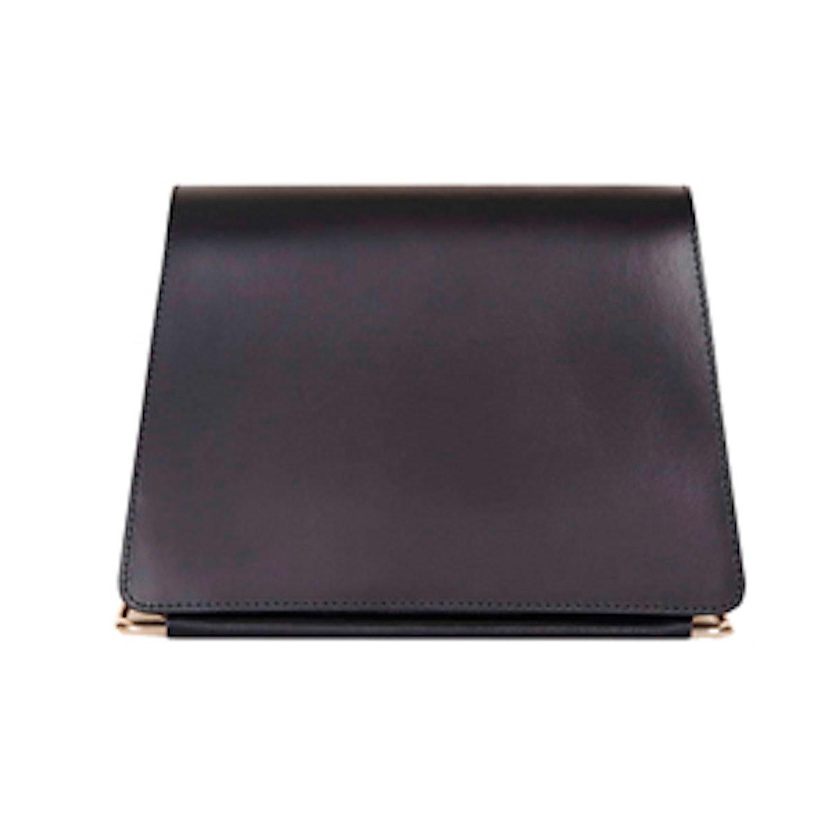Premium Leather Clean Clutch