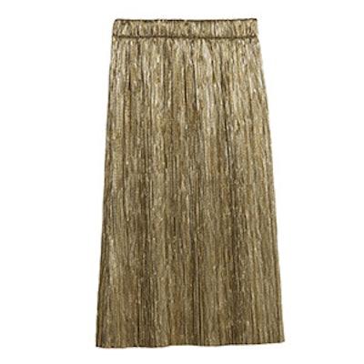 Accordion Pleat Skirt