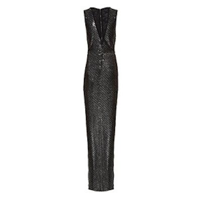 Khalo V-Neck Maxi Dress