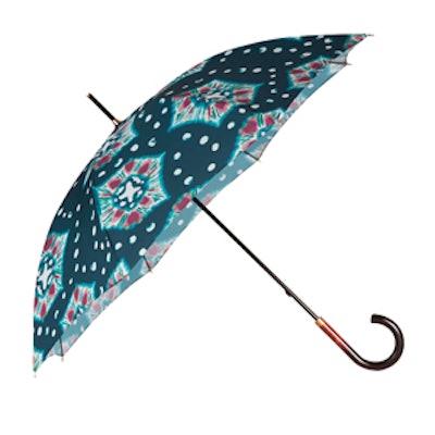The Tie Die Print Walking Umbrella