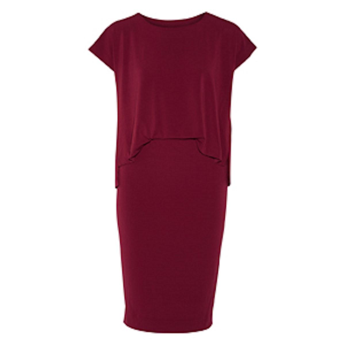 Bixia Stretch-Crepe Dress