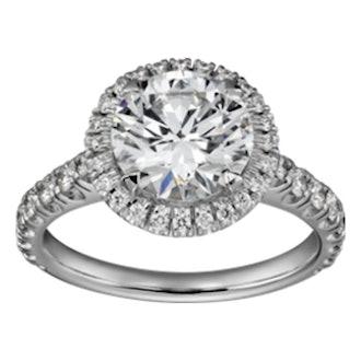 Platinum & Diamond Destinee Engagement Ring