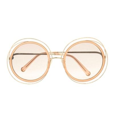 Carlina Gold Sunglasses