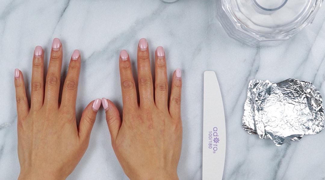 How To Remove Gel Nail Polish At Home