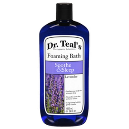 Dr. Teal's Soothe and Sleep Foaming Bath