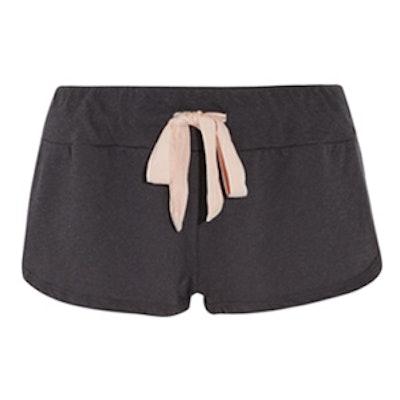 Heather Jersey Pajama Shorts