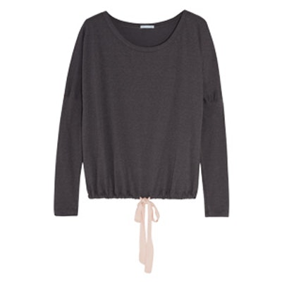 Heather Jersey Pajama Top