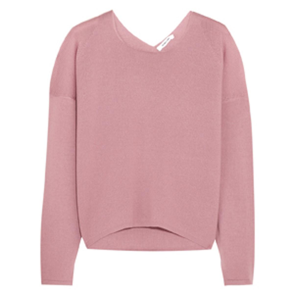 Pink Wool Sweater