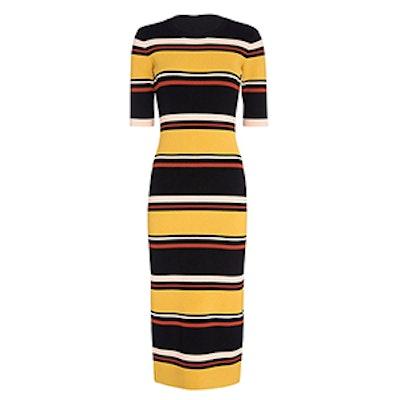 Wyatt Striped Knit Dress