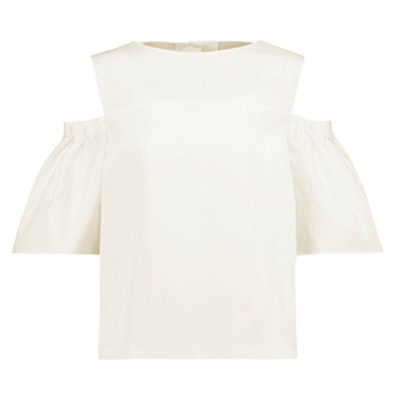 Clarissa Off-The-Shoulder Cotton Top
