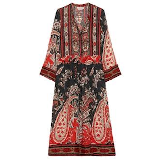 Tilda Printed Crepe Dress