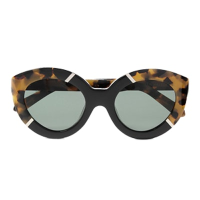 Flowerpatch Cat-Eye Acetate Sunglasses