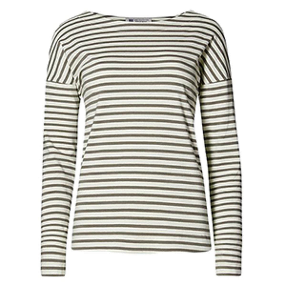 Cotton Rich Striped Top
