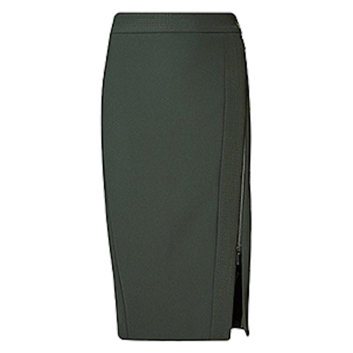 Speziale Zip Front Pencil Skirt