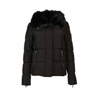 Fur Puff Down Jacket