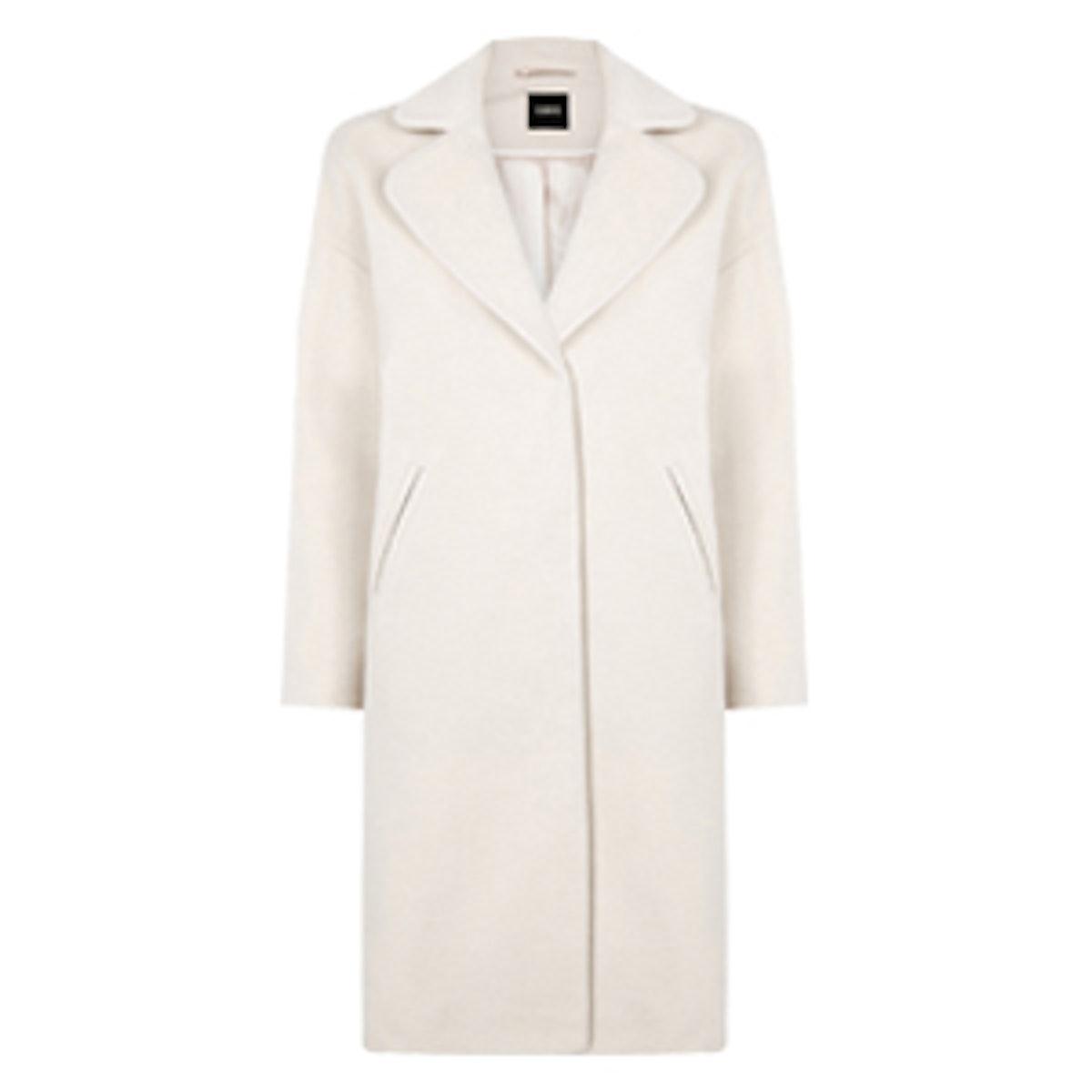 Curve Cocoon Coat