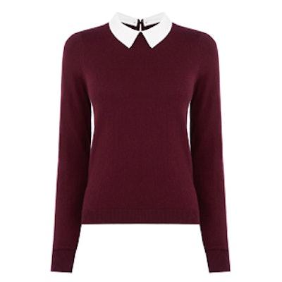 Collar Knit Sweater