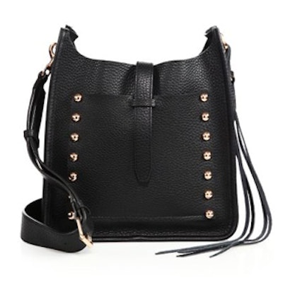 Studded Leather Feed Bag