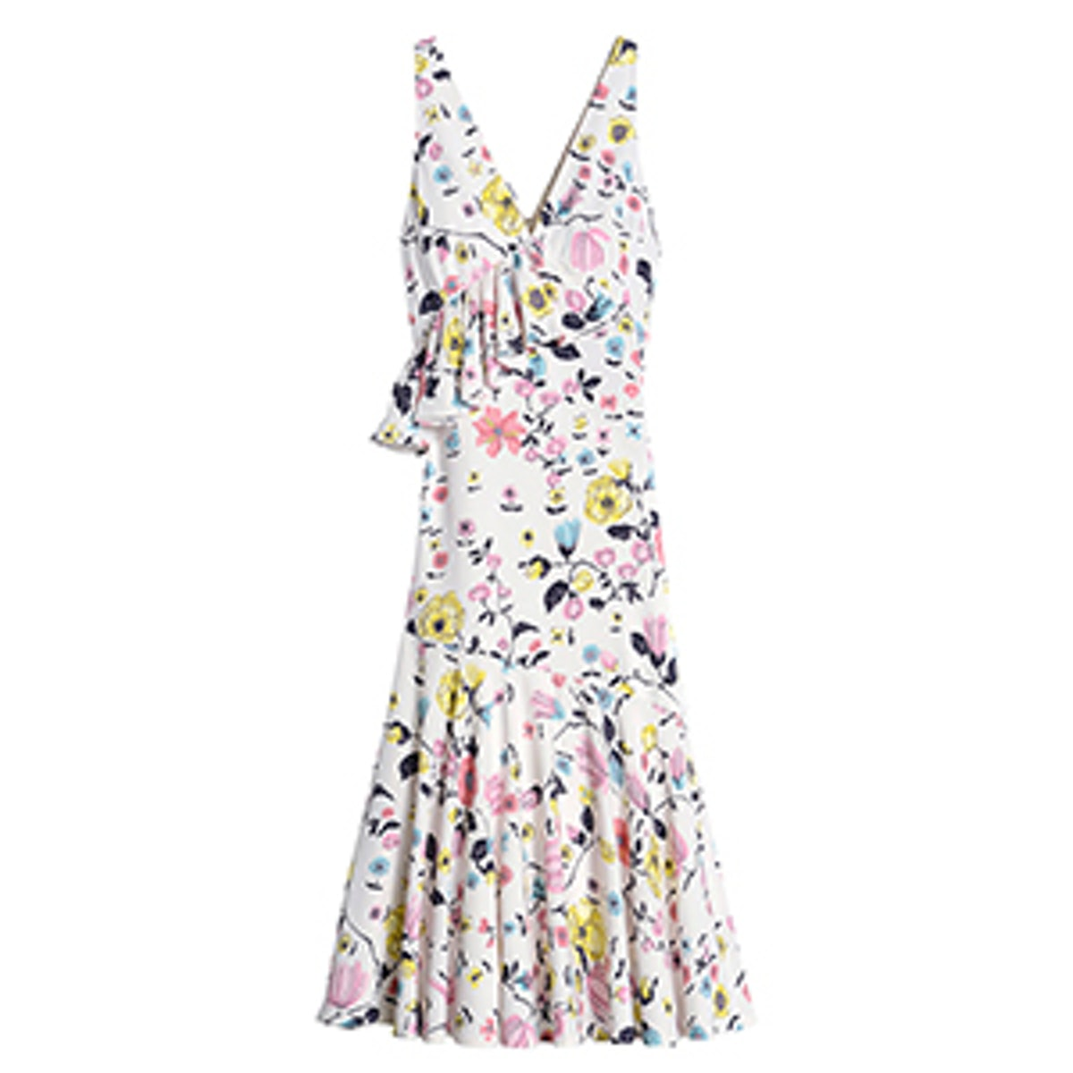Tapestry Garden Ruffle Dress