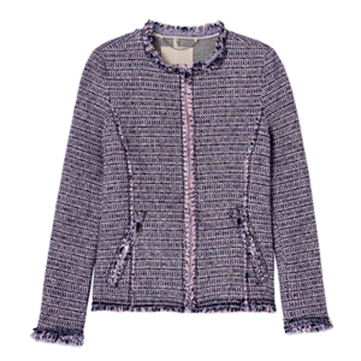 Graphic Tweed Jacket
