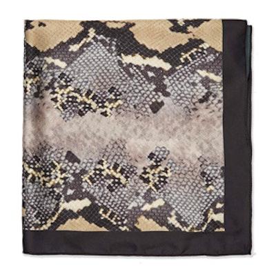 Snake Patterned Neckerchief