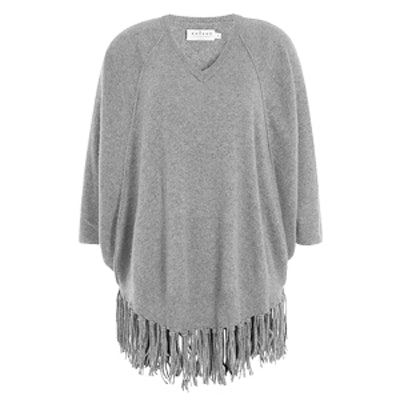Fringed Cashmere Pullover