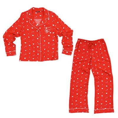 Cupid Hearts Classic Pajama Set