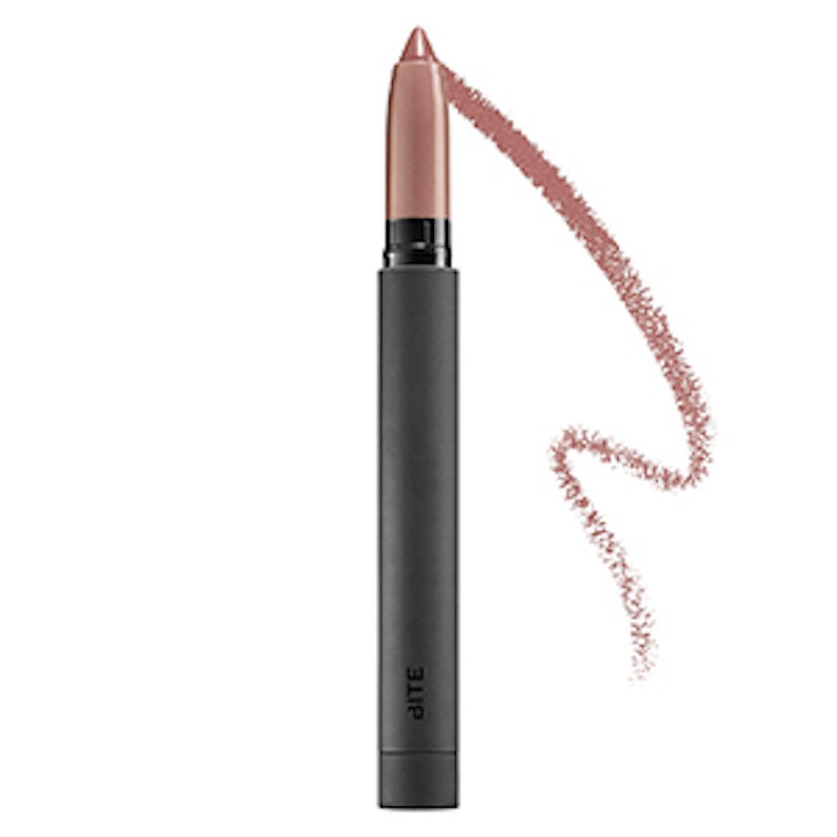 Matte Creme Lip Crayon in Dusty Pale Pink
