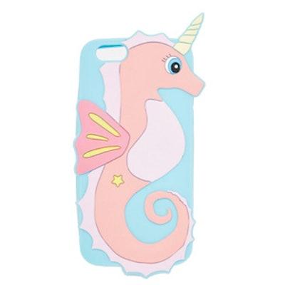 Unicorn Seahorse Jelly iPhone Case