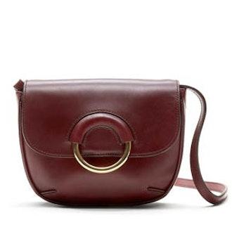 Italian Vachetta Mini Saddle Bag